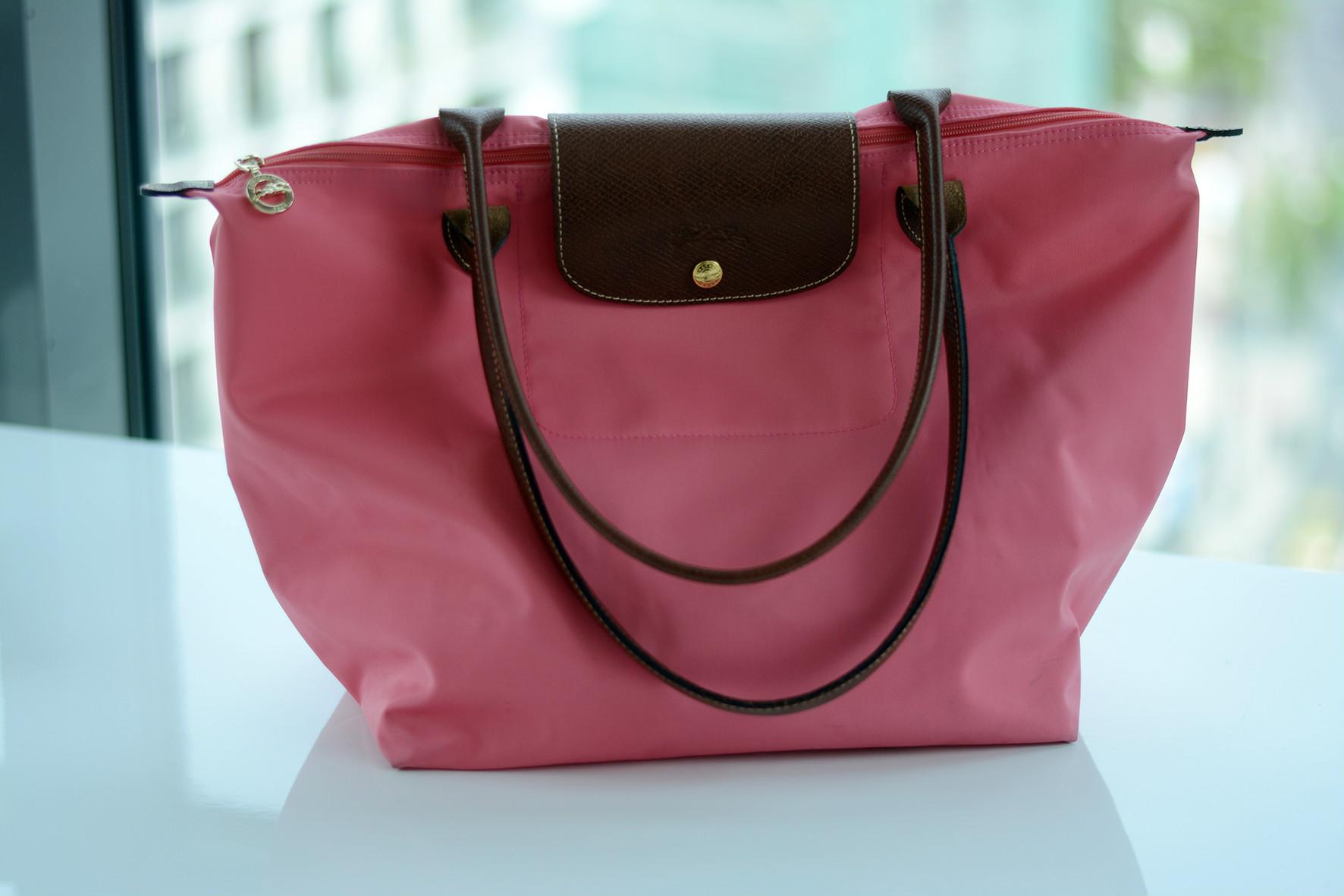 1a680fa11201a torebka – Longchamp Le Pliage sandały – Massimo Dutti biżuteria – DIY