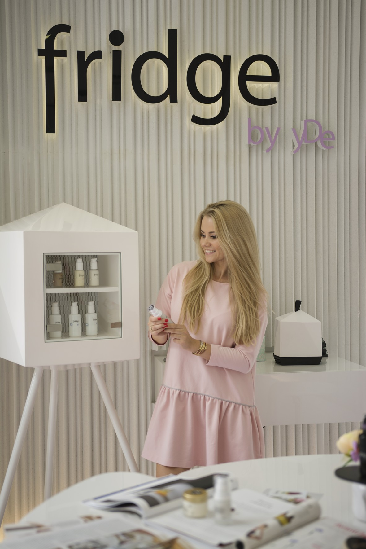 Fridge By Yde świeże Kosmetyki Prosto Z Lodówki